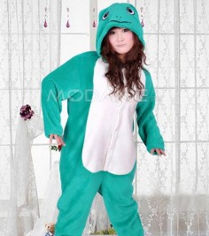 Grenouille pyjama siamois pour adulte aimable pas cher