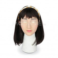 Masque silicone deguisement femme transgenre Crossdresser female mask on sale