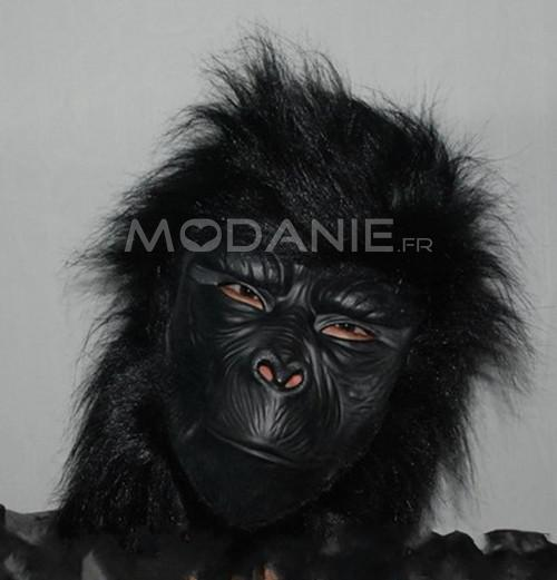 horrible masque d 39 halloween chimpanz latex pas cher. Black Bedroom Furniture Sets. Home Design Ideas