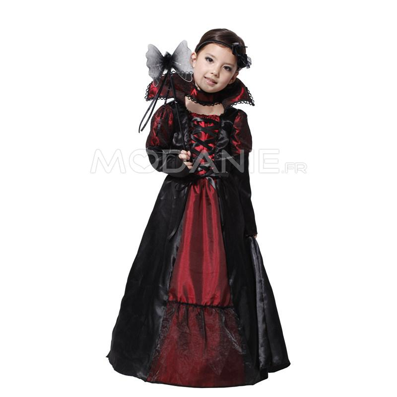 vampire d guisement enfant somptueux halloween cosplay. Black Bedroom Furniture Sets. Home Design Ideas