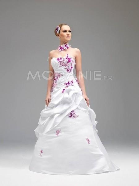 Robe mariee 2 couleurs